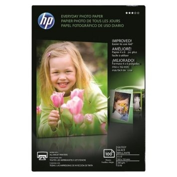 HP Everyday Semi-Gloss Photo Paper - CR759A