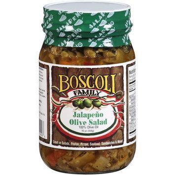 Boscoli Family Jalapeno Olive Spread, 16 oz
