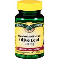 Spring Valley Promotes Wellness Olive Leaf 150 Mg Herbal Supplement