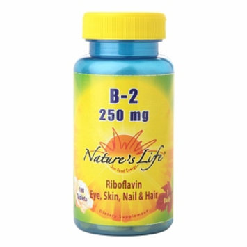Nature's Life Vitamin B-2 250mg