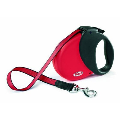 Flexi Durabelt Soft Grip Retractable Belt Dog Leash, 16-Feet Long