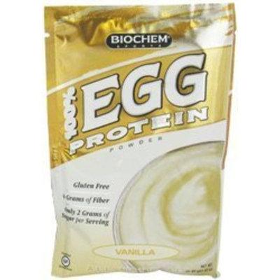 Bio Chem Biochem 100% Egg Protein Powder, Vanilla, Single Serving Packs 41.83 g, 10-Count