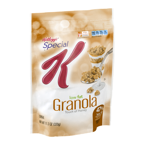 Special K® Kellogg's Low Fat Granola Touch of Honey