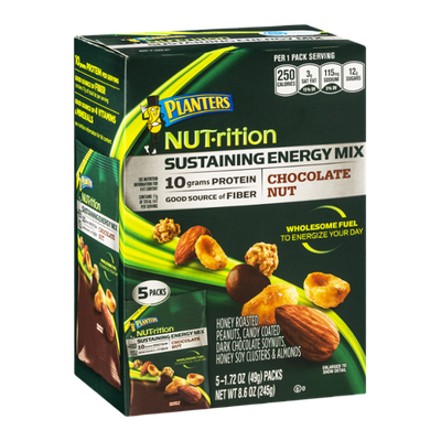 Planters NUT-rition Sustaining Energy Mix Chocolate Nut