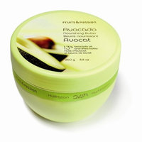 Fruits & Passion Nourishing Collection Body Butter, Avocado, 8.8-Ounce Jar