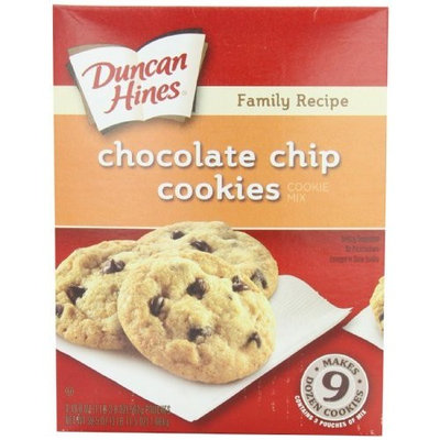 Duncan Hines Cookie Mix, Chocolate Chip, 59.5 Ounce