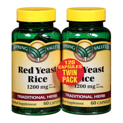 Spring Valley Red Yeast Rice 1200 mg