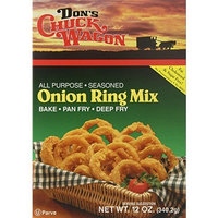 Don's Chuck Wagon Onion Ring Mix, 12-Ounce (Pack of 12)