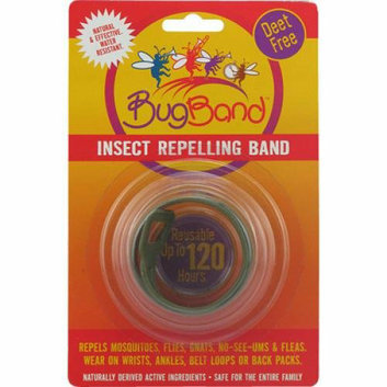 Bug Band Insect Repelling Band Olive Green 1 Band Case of 12