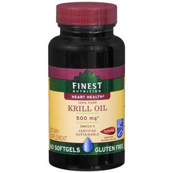 Finest Nutrition 100% Krill Oil 500mg, Softgels