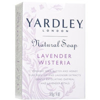 Yardley London Yardley Natural Soap Wisteria, Lavender, 4 Ounce