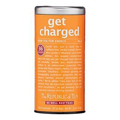 The Republic of Tea, Get Charged Tea, 36-Count