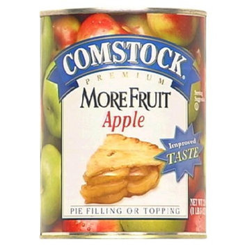 Comstock More Fruit Apple Pie Filling or Topping 21-oz.