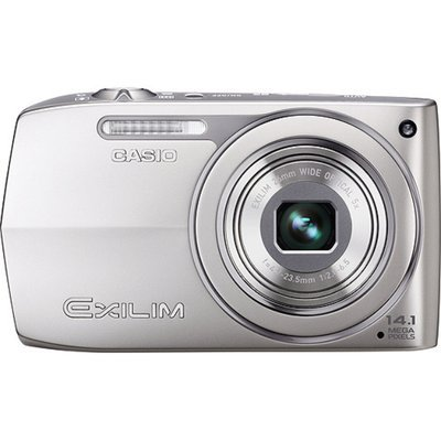 Casio Exilim EX-Z2000 Silver 14MP Digital Camera, 5X Ultra Wide Zoom, 3.0