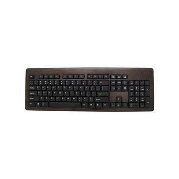 Impecca KBB102 Bamboo Designer Keyboard Espresso