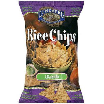 Lundberg Family Farms Wasabi Rice Chips