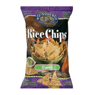 Lundberg Family Farms Wasabi Rice Chips
