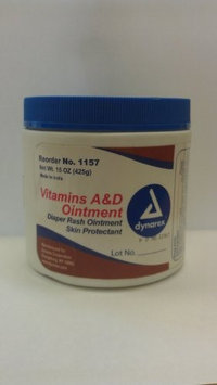 Dynarex 1157 Vitamin A and D Ointment - 15 Oz - 12/Case
