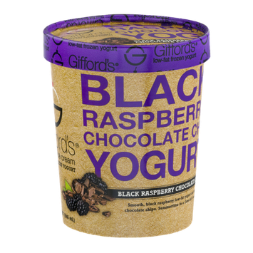 Giffords's Famous Ice Cream Black Raspberry Chocolate Chip