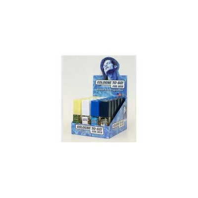 DDI Mens Cologne 4 Fragrances 6 Each Counter Top Display- Case of 144