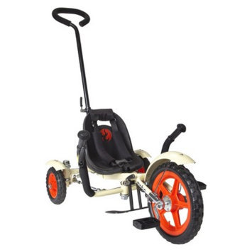 Mobo Total Tot (Ivory): The Roll-to-Ride Three Wheeled Cruiser (12