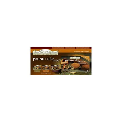 New Harvest Naturals Harvest Naturals Pound Cake Minis Marble - Case of 6 Each Containing 5 In...