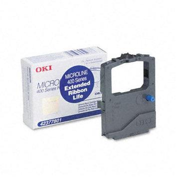 OKI42377801 - Oki Black Nylon Ribbon Cartridge