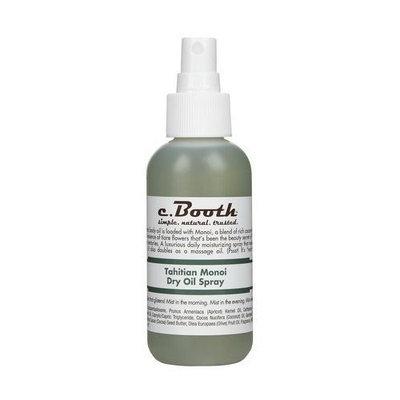 Booth's C. Booth Tahitian Monoi Dry Oil Spray, 4 Fluid Ounce