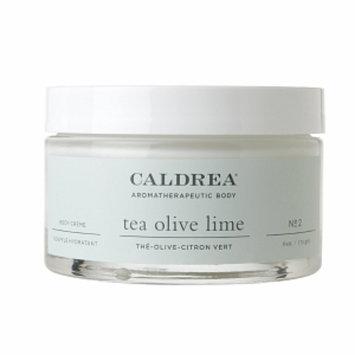 Caldrea Body Crème, Tea Olive lime, 6 oz