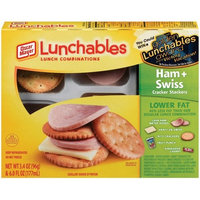 Oscar Mayer Lunchables: Ham + Swiss Cracker Stackers, 3.40 oz