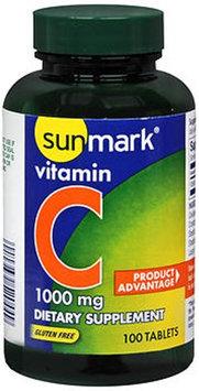 Sunmark Vitamin C Tablets, 1000 mg, 100 Tabs by Sunmark