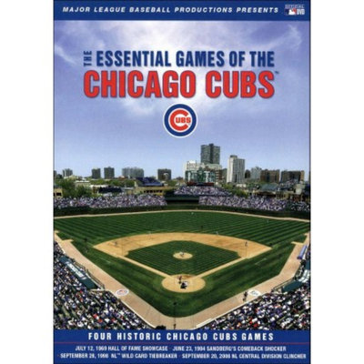 MLB: The Essential Games of the Chicago Cubs (4 Discs)