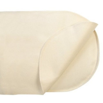 Naturepedic Organic Cotton Mattress Protector for Oval Bassinet