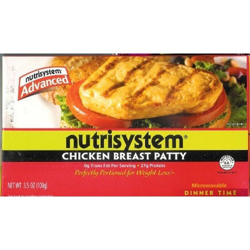 NutriSystem Advanced Grilled Chicken Breast Patty