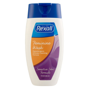 Rexall Feminine Wash Sensitive Skin Formula, 9 oz