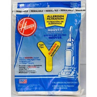 Hoover Filter Bags Type Y Allergen Filtration 3 Count (Pack of 4) Total of 12 Bags