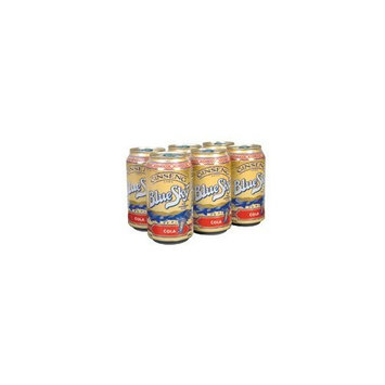 Blue Sky Ginseng Cola 6 pack, 12-ounces (Pack of4)