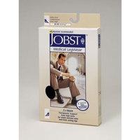 Jobst Men's 30-40 mmHg Closed Toe Knee High Support Sock Size: Medium, Color: Black