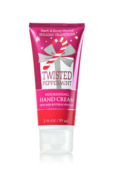 Bath & Body Works Nourishing Hand Cream -Twisted Peppermint