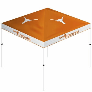 Trademark Games NCAA Texas Longhorns Gazebo Tent Canopy - 10' x 10'