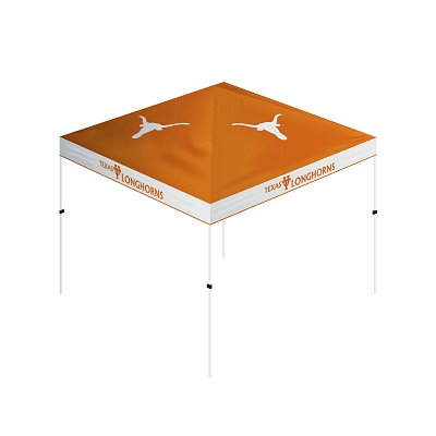 Trademark Games NCAA Texas Longhorns Gazebo Tent Canopy - 10' x 10'