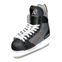 American Athletic Boys American Ice Force Hockey Skate - Black (1)