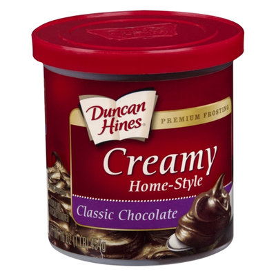 Duncan Hines Creamy Home-Style Classic Chocolate Frosting