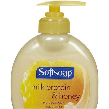 Softsoap Milk Protein & Honey Hand Soap, 6 Fl Oz