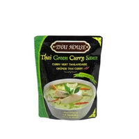 Thai House Green Curry Sauce, 10.58-Ounce Pouches (Pack of 6)