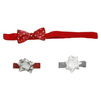 Just One You Made by Carter's JOY 3 ea Snug Fit Hair Accessories Set