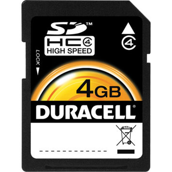 Duracell Secure Digital High Capacity (SDHC) Memory Card