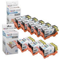 LD Compatible Set of 8 (Series 23) High Yield Black & Color Ink Cartridges for the Dell V515w Printers: 5 Black T105N, 3 Color T106N