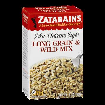 Zatarain's New Orleans Style Long Grain & Wild Mix