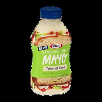 Kraft Sandwich Shop Twist of Lime Mayo